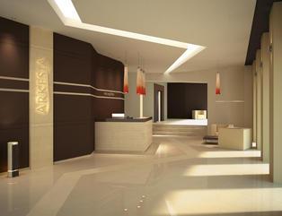Arkesia - Salon, Przedpokój, Balkon i taras