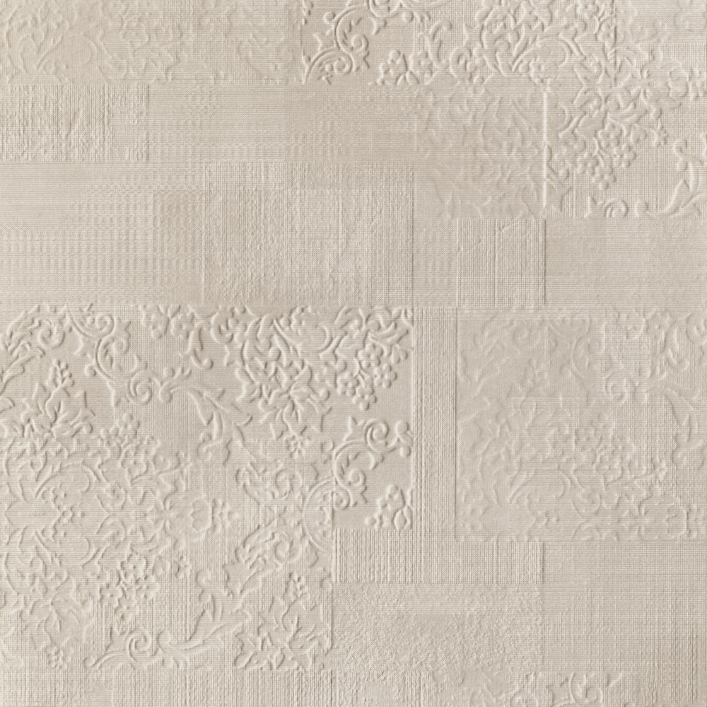 aloke bianco gres szkl rekt mat ornament 598x598