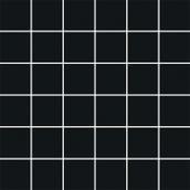 Bellicita Nero Mozaika Cięta K.4,8X4,8  29,8x29,8 Bellicita / Purio 29,8 x 29,8 cm