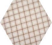 Esagon Linum Beige Inserto A 19,8x17,1 Esagon 17,1 x 19,8 cm