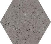 Industrialdust Grys Gres Szkl. Mat. 19,8x17,1 Industrialdust 17,1 x 19,8 cm