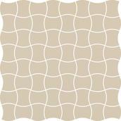 Modernizm Bianco Mozaika Prasowana K.3,6X4,4  30,86x30,86 Modernizm 30,9 x 30,9 cm