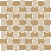 Modernizm Bianco Mozaika Prasowana K.3,6X4,4 Mix C 30,86x30,86 Modernizm 30,9 x 30,9 cm