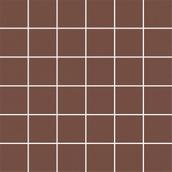 Modernizm Brown Mozaika Cięta K.4,8X4,8  29,8x29,8 Modernizm 29,8 x 29,8 cm