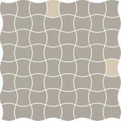 Modernizm Grys Mozaika Prasowana K.3,6X4,4 Mix B 30,86x30,86 Modernizm 30,9 x 30,9 cm