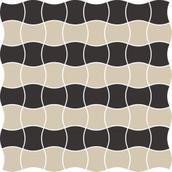Modernizm Nero Mozaika Prasowana K.3,6X4,4 Mix B 30,86x30,86 Modernizm 30,9 x 30,9 cm
