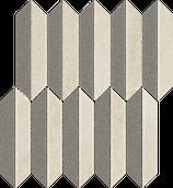 Mystic Shadows Beige Mozaika Cięta Mix Mat 27,4x29,8 Mystic Shadows 27,4 x 29,8 cm