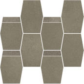 Naturstone Umbra Mozaika Cięta Hexagon Mix 28,6x23,3 Naturstone 23,3 x 28,6 cm