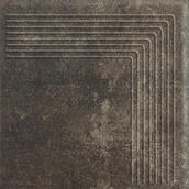 Scandiano Brown Stopnica Narożna 30x30 Scandiano 30 x 30 cm