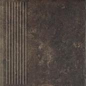 Scandiano Brown Stopnica Prosta 30x30 Scandiano 30 x 30 cm