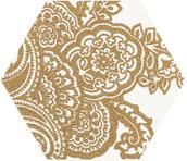 Shiny Lines Gold Heksagon Inserto B 19,8x17,1 Shiny Lines 19,8 x 17,1 cm