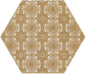 Shiny Lines Gold Heksagon Inserto E 19,8x17,1 Shiny Lines 19,8 x 17,1 cm