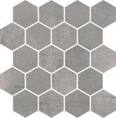 Space Grafit Mozaika Cięta Hexagon Poler 25,8x28 Space 25,8 x 28 cm