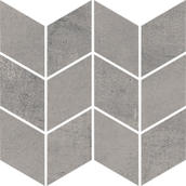 Space Grafit Mozaika Cięta Romb Braid Mat. 20,5x23,8 Space 20,5 x 23,8 cm