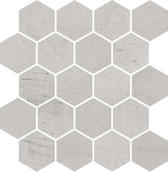 Space Grys Mozaika Cięta Hexagon Mat. 25,8x28 Space 25,8 x 28 cm
