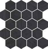 Taiga Grafit Wood Mozaika Cięta 25,8x28 Taiga 25,8 x 28 cm