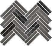 Uniwersalna Mozaika Grys Paradyż Argentino 25,3x29,2 29,2 x 25,3 cm