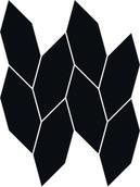 Uniwersalna Mozaika Nero Paradyż Torton 22,3x29,8 Uniwersalne mozaiki 29,8 x 22,3 cm