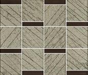 Uniwersalna Mozaika Szklana Brown Paradyż Ramones 29,8x25,7 Uniwersalne mozaiki 25,7 x 29,8 cm