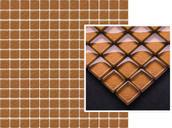 Uniwersalna Mozaika Szklana Brown 29,8x29,8 Coraline / Coral Miriam / Mirio (WYCOFANE) 29,8 x 29,8