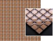 Uniwersalna Mozaika Szklana Brown Brokat 29,8x29,8 Sabro / Silon 29,8 x 29,8 cm