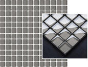 Uniwersalna Mozaika Szklana Grafit 29,8x29,8 Pandora Abrila / Purio 29,8 x 29,8 cm