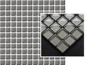 Uniwersalna Mozaika Szklana Grafit Brokat 29,8x29,8 29,8 x 29,8 cm