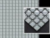 Uniwersalna Mozaika Szklana Silver Brokat 29,8x29,8 Etezje / Tazo (WYCOFANE) Sabro / Silon 29,8 x