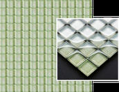 Uniwersalna Mozaika Szklana Verde Brokat 29,8x29,8 Sabro / Silon 29,8 x 29,8 cm