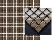 Uniwersalna Mozaika Szklana Wenge 29,8x29,8 Coraline / Coral Miriam / Mirio (WYCOFANE) 29,8 x 29,8