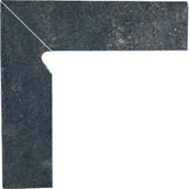 Viano Antracite Cokół 2 El.-Lewy 8,1x30 Viano 8,1 x 30 cm