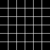 Albir Nero Mozaika Prasowana K.4,8X4,8 29,8x29,8 Altea/Albir Vivian/Purio 29,8 x 29,8 cm