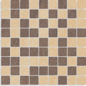 Arkesia Brown/mocca Mozaika Cięta Mix Poler 29,8x29,8 Arkesia 29,8 x 29,8 cm