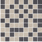 Arkesia Grys/grafit Mozaika Cięta Mix Poler 30x30 Arkesia 30 x 30 cm