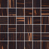 Ebano Naturale Mozaika Cięta B Półpoler 29,8x29,8 29,8 x 29,8 cm