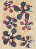 Firletka Beige Inserto 25x33,3 Firletka/Szafirek 25 x 33,3 cm