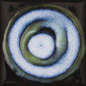 Reflette Nero/verde Inserto Koło 9,8x9,8 Reflette 9,8 x 9,8 cm