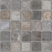 Rockaway Grys Gres Szkl. Struktura A Kostka Bruk. Mozaika 40x40 Rockaway 40 x 40 cm