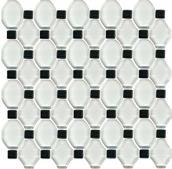 Secret Bianco Mozaika Szklana 29,8x29,8 Secret/Edeno 29,8 x 29,8 cm