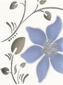 Tirani Blue Inserto B 25x33,3 Tirani/Tori 25 x 33,3 cm