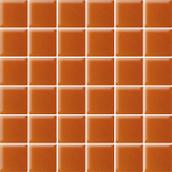 Uniwersalna Mozaika Szklana Arancione K.4,8X4,8  29,8x29,8 Modul / Purio 29,8 x 29,8 cm
