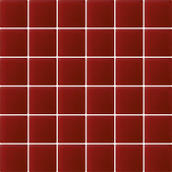 Uniwersalna Mozaika Szklana Karmazyn K.4,8X4,8  29,8x29,8 Modul / Purio Reflection / Reflex 29,8 x