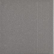 Bazo Nero Stopnica Prosta Gres Sól-Pieprz Mat. 30x30 Bazo 30 x 30 cm