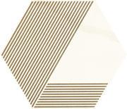 Calacatta Hexagon Mat. A  17,1x19,8 Calacatta 17,1 x 19,8 cm
