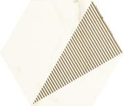 Calacatta Hexagon Mat. C  17,1x19,8 Calacatta 17,1 x 19,8 cm