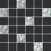 Esten Silver/grafit Mozaika Cięta K.4,8X4,8  29,8x29,8 Esten 29,8 x 29,8 cm