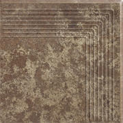 Ilario Brown Stopnica Narożna 30x30 Ilario  30 x 30 cm