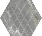 Marvelstone Light Grey Heksagon Gres Szkl. Mat. 19,8x17,1 Marvelstone 19,8 x 17,1 cm