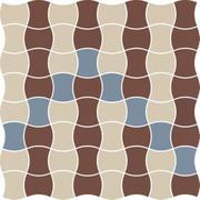 Modernizm Bianco Mozaika Prasowana K.3,6X4,4 Mix B 30,86x30,86 Modernizm 30,9 x 30,9 cm