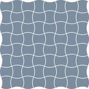 Modernizm Blue Mozaika Prasowana K.3,6X4,4  30,86x30,86 Modernizm 30,9 x 30,9 cm